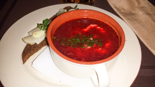 BORSCHT, BLACK BREAD AND SALO IN LVIV
