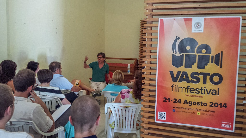 CARMINE AMOROSO TALKS ABOUT SCREENWRITING AT THE VASTO FILM FESTIVAL