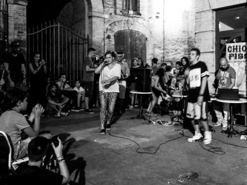 MARTI STONE AS A PANTER LIVE IN LANCIANO