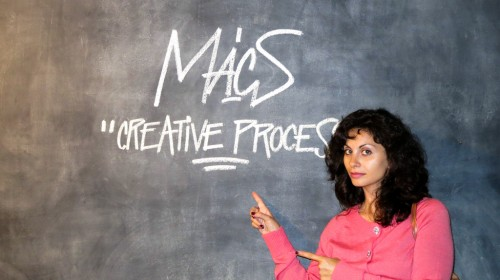 MACS: RAFFAELLA TENAGLIA AT THE CREATIVE PROCESS