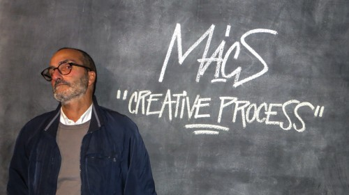 MACS: MARCO PALLINI PALMAR AT THE CREATIVE PROCESS