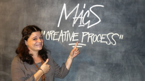 MACS: RITA PICKWICK AT THE CREATIVE PROCESS