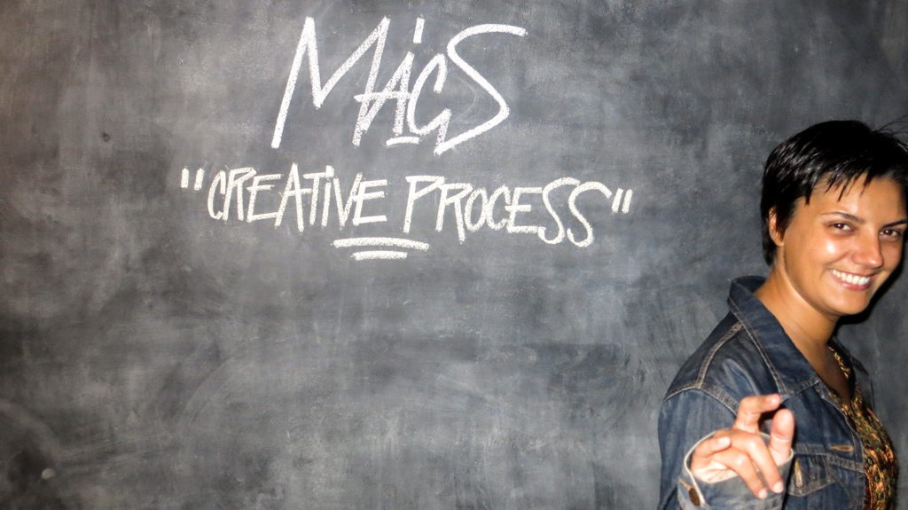 MACS: LADY TESTA AT THE CREATIVE PROCESS