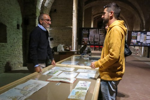 MARCO PALLINI PALMAR AND ANTONELLO MACS TALK ABOUT WATERCOLOR