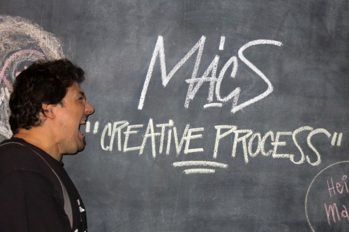 MACS: DANIELE DI LUCA AT THE CREATIVE PROCESS