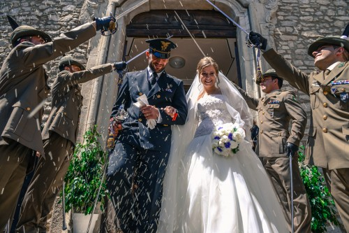 GIULIO AND VIRGINIA JUST MARRIED