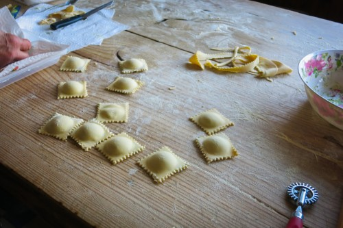 MAKING OF RAVIOLI