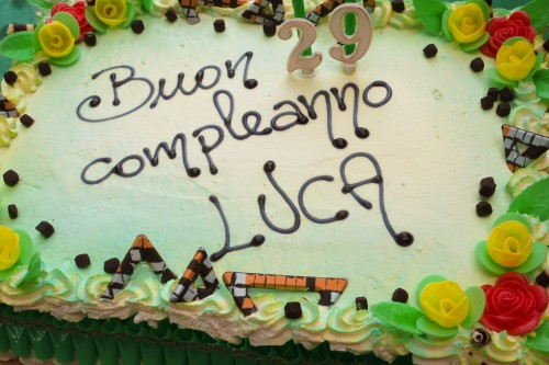 Happy birthday Luca
