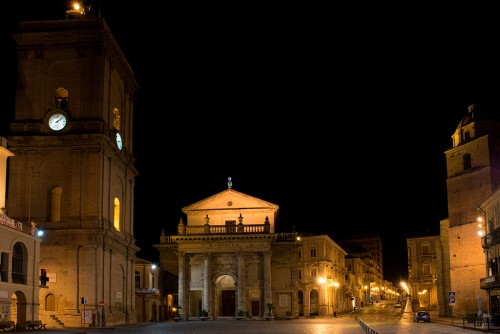 Lanciano by night