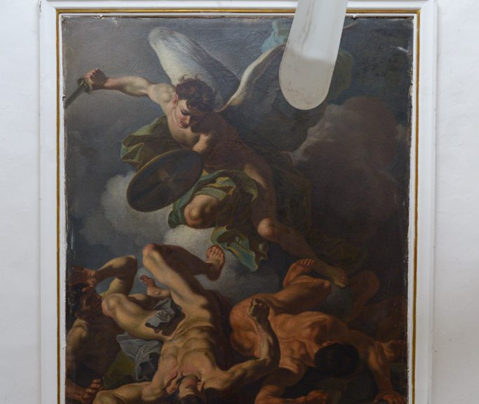 Fall of the Rebel Angels, Assunta Church Castel Frentano