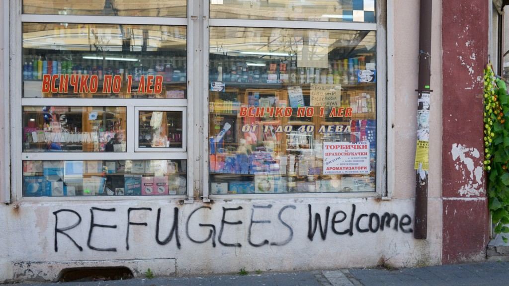 Sofia lifestyle: Refugees Welcome