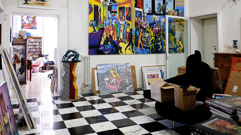 Kostabi House in Rome #2