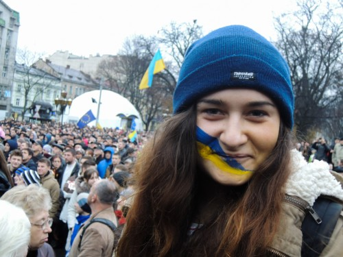 UKRAINE GIRL FOR EUROPE