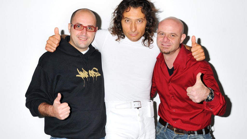 Me, Ray Sugar Sandro and Fausto Bomba in our studio