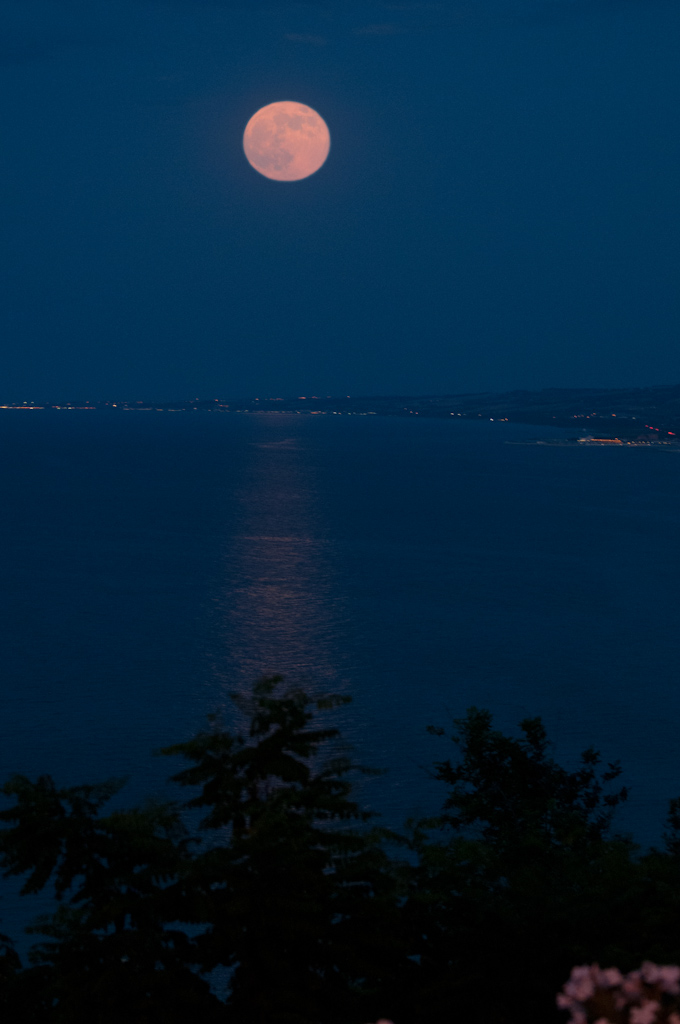 SUPER LUNA IN VASTO