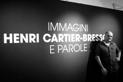 Me at Henri Cartier-Bresson show