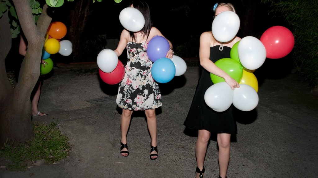 Balloons for a wedding