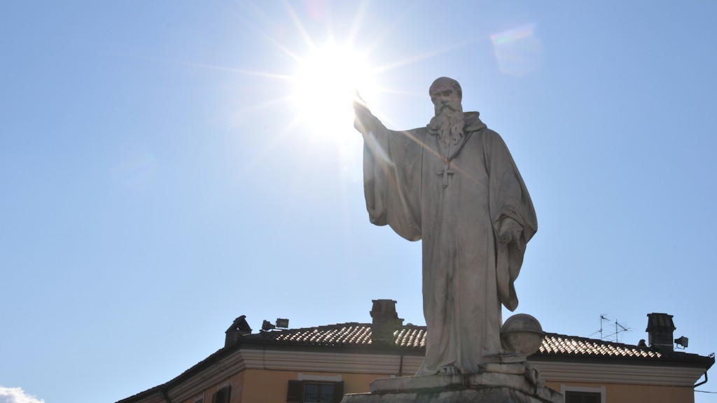 St. Benedict of Norcia honored as the patron saint of Europe