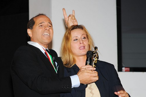Berlusconi impersonator