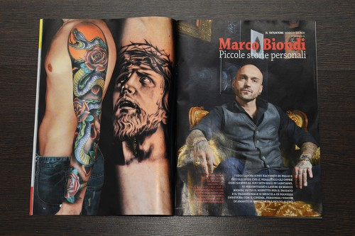 MARCO BIONDI SHOT BY ME FOR TATTOO ITALIA MAGAZINE OUT NOW!