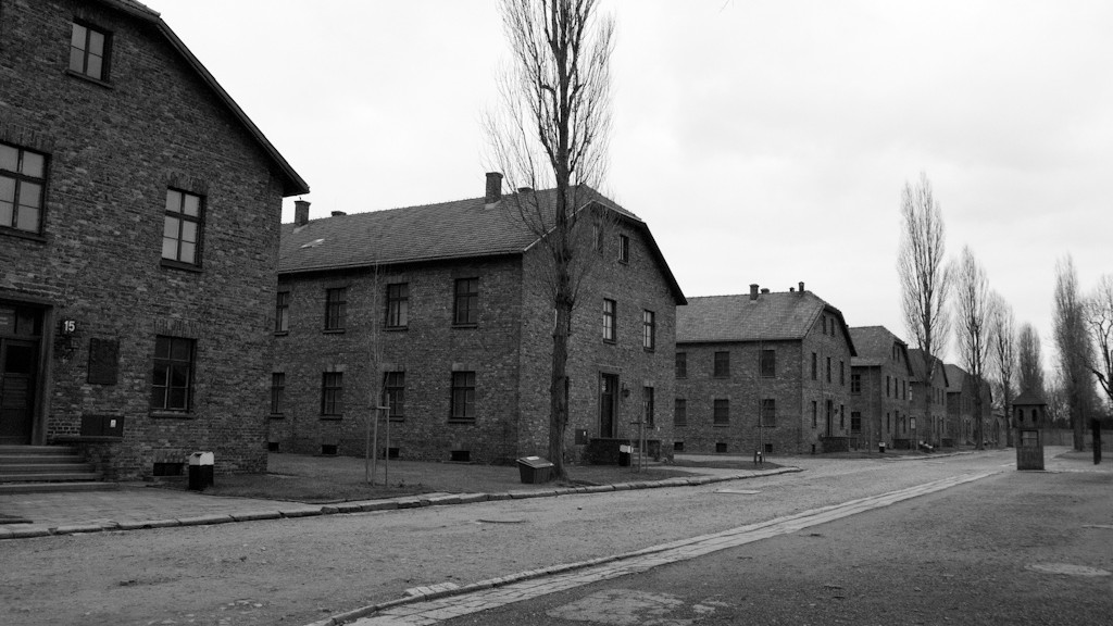 Blocks in Auschwitz