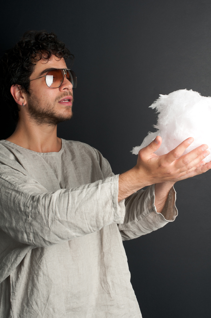 LUCA ROMAGNOLI SPEAKS AT THE COTTON CANDY