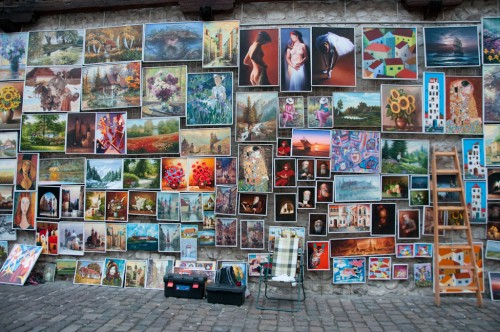 Paintings in Krakow