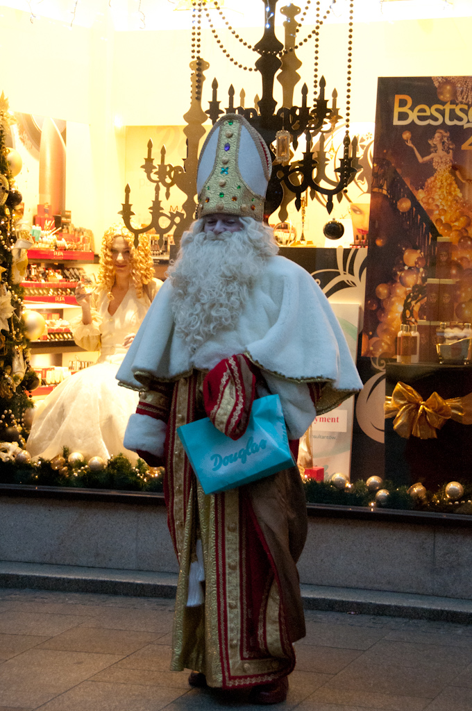 Santa Claus in Krakow