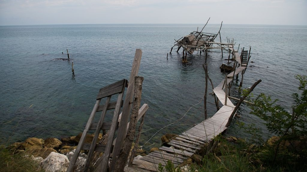 TRABOCCO TURCHINO DESCRIBED BY D'ANNUNZIO IN SAN VITO CHIETINO