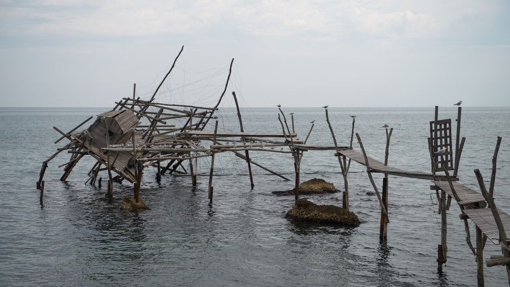 TRABOCCO TURCHINO IN SAN VITO CHIETINO TODAY