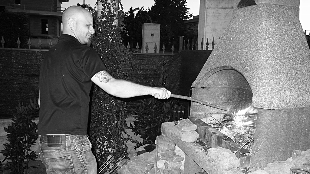 Stromberg and fire at Marco Biondi's house