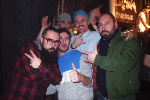 ANTONIO GOLDEN TRASH POWER FRANCERS, ANTONELLO MACS, MARIO BASILE AND ROSSANO LAST NIGHT