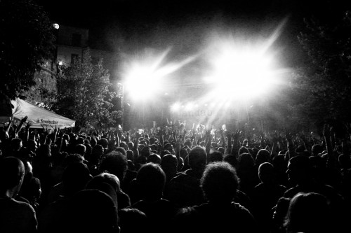 "Bandabardò live in Torricela Peligna for ""Arte Musica & Gusto"" last night"