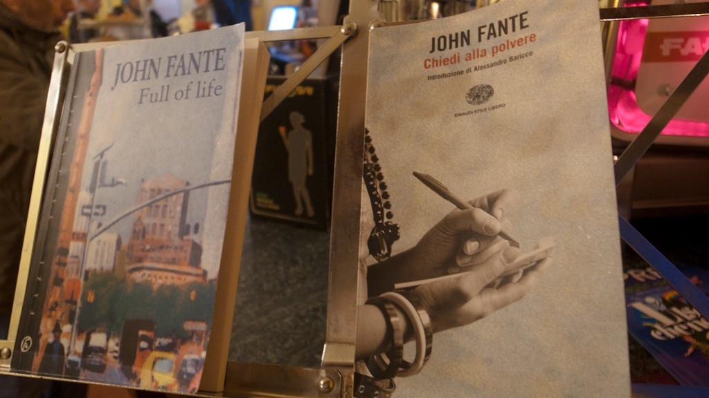 JOHN FANTE AND THE CULTURE WEEK