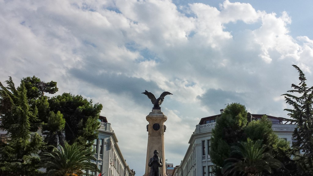 SKY ON ROSSETTI SQUARE IN VASTO