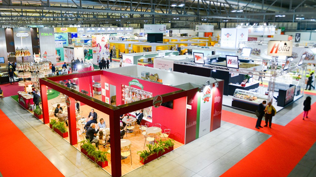 Sorrentino's Stand in Tuttofood 2015