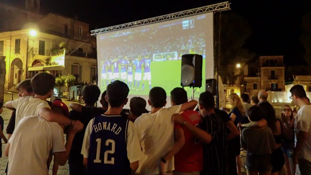 Rooting for Italy