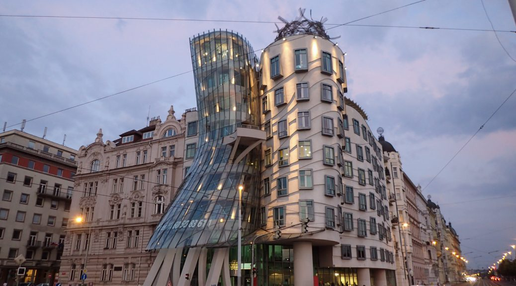 Nice building in Prague