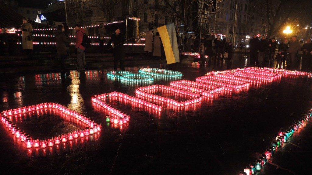 HOLODOMOR MEMORIAL DAY IN LVIV #2