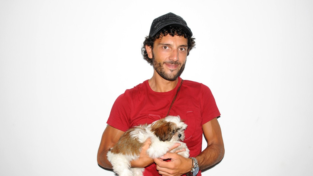 DANIELE AND HIS DOG