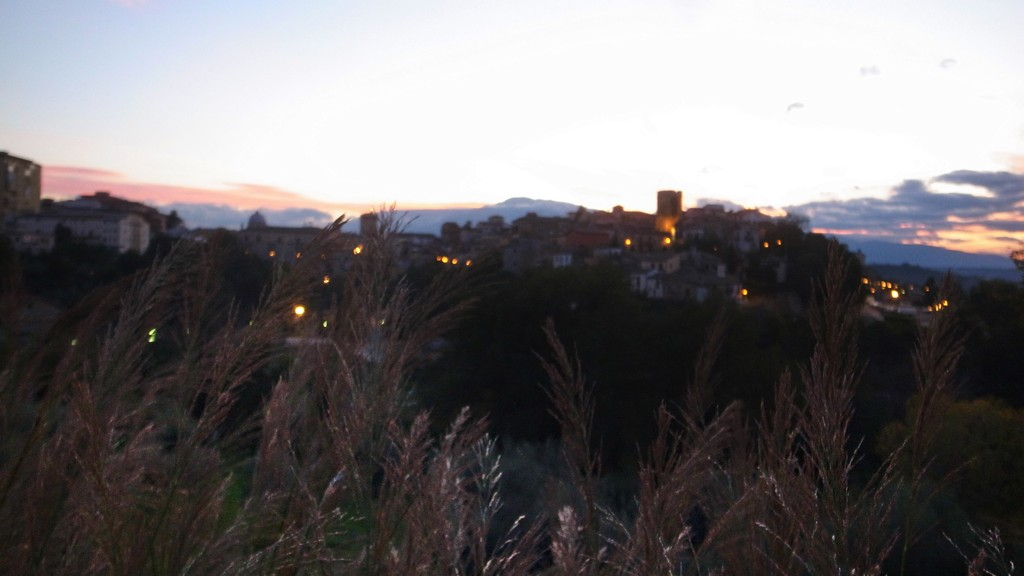 ANOTHER SUNSET IN LANCIANO