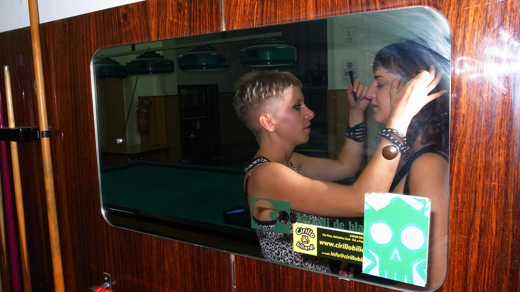 Billiard make up