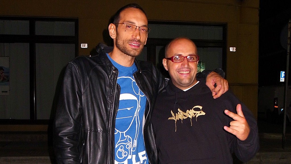 Antonio Sciolè and me