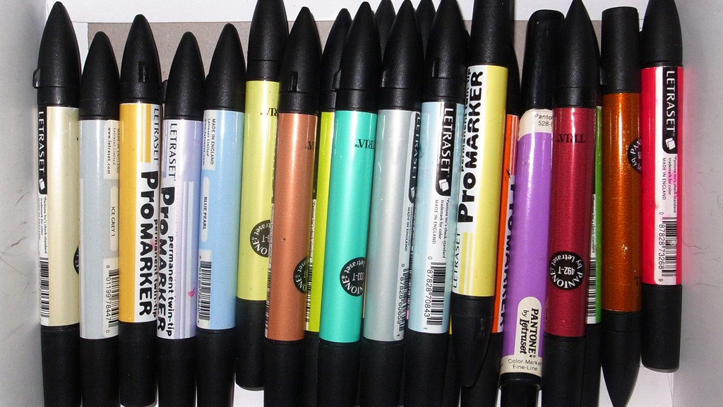 Colored markers