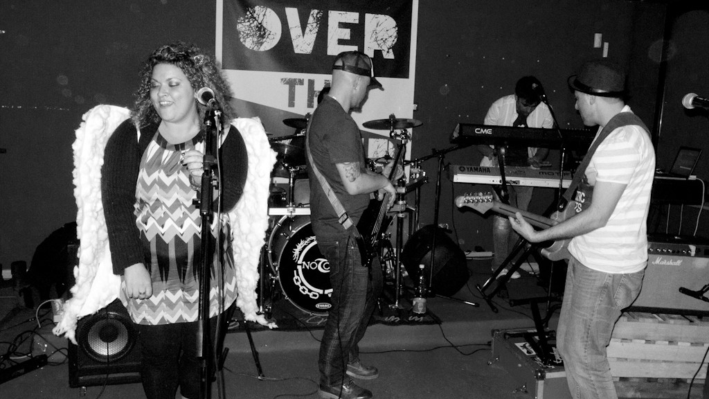 Mom Blaster live at Over The Cover last night