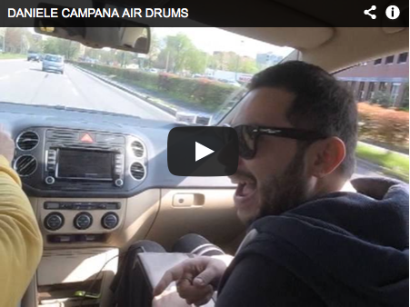 DANIELE CAMPANA AIR DRUMS