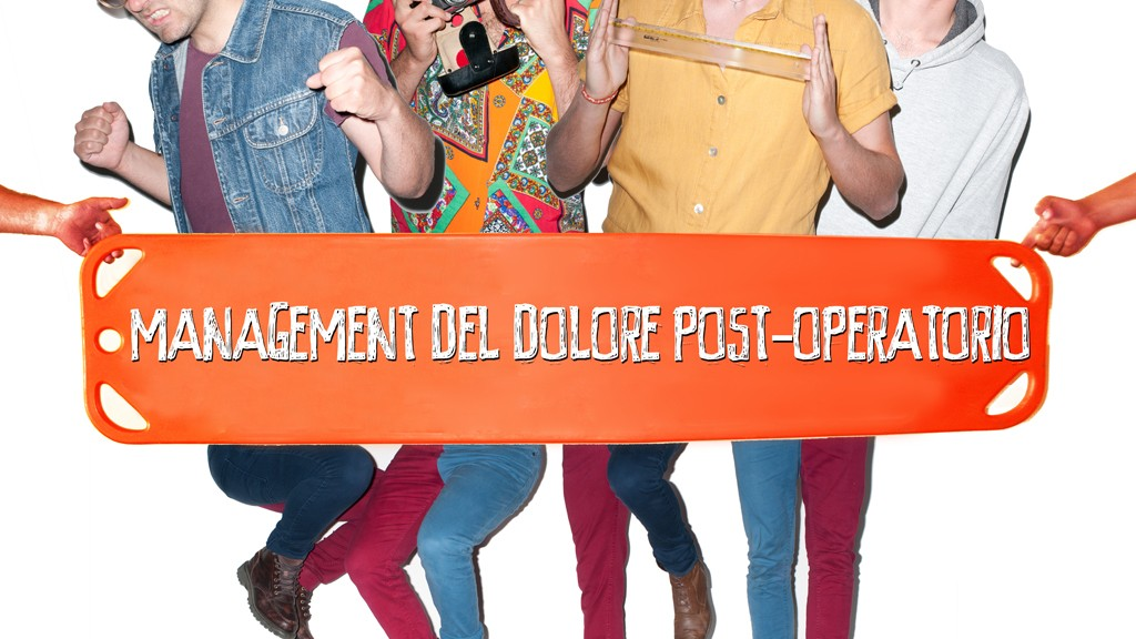 MANAGEMENT DEL DOLORE POST-OPERATORIO ON MTV NEW GENERATION OUT NOW!